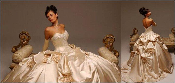 Bridesmaid Dresses In Neutrals Champagne Beige And Pale: Artykuły .:. Czy Suknia ślubna Musi Być Biała? .:. Płocki