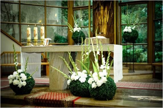 Artykuły Pomysły Na Dekoracje Kościoła I Sali Weselnej